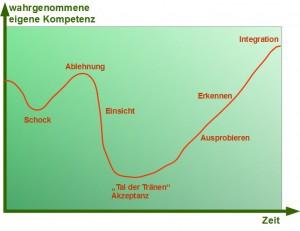 Veränderungskurve nach Richard K. Streich