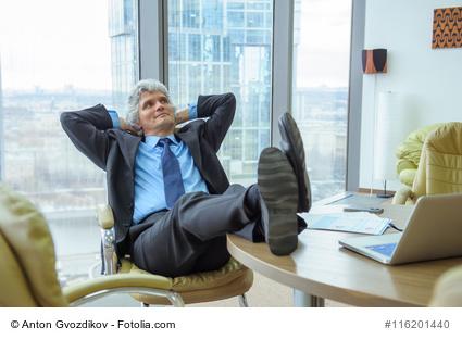 Warum sind Chefs weniger gestresst?