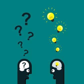 Stelle Fragen lösungsfokussiert!